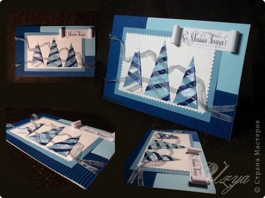 Еще парочка новогодних открыток фото 1