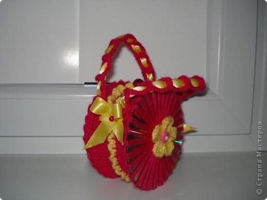 Вот такая сумочка у меня получилась для моей 5-летний подружки!  фото 3