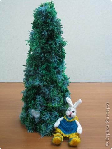 елка из помпонов