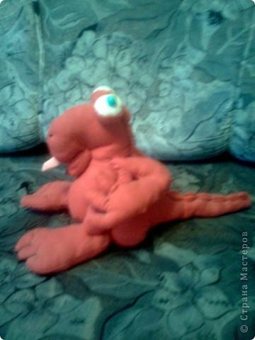 """Мягкая игрушка """"Дракончик"""" фото 2"""