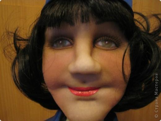 Попросили сделать женщину энергетика. Это уже вторая моя кукла этой профессии, но к большому моему сожалению, я забыла сфотографировать первую. фото 4