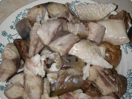 Сегодня у меня дебют. Решила приготовить старинный русский рыбный суп. Называется он КАЛЬЯ. фото 10