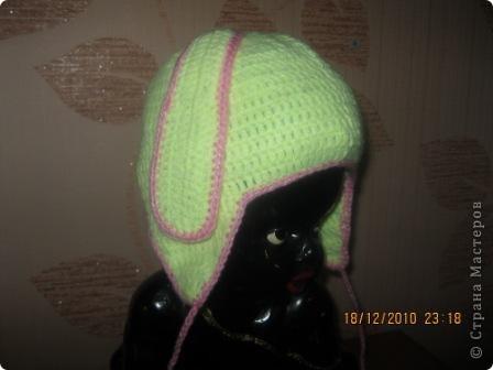 Связала шапочку на заказ для ребенка. Правда не видела девочку, все делала на глаз. фото 1