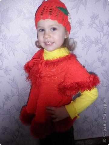 """Кофтинка і шапочка для моєї донечки. Намагаюся пробувати себе у різних видах ручної роботи. Зв""""язано гачком.  фото 3"""