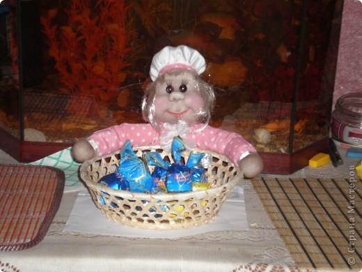 Мне очень понравилась идея с оформлением конфетницы вот и решила себе сделать!!! фото 1