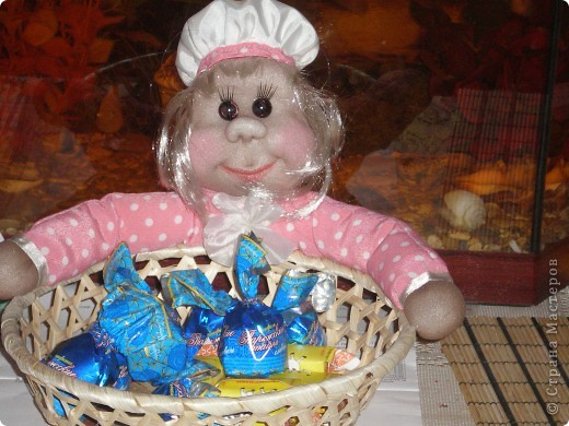 Мне очень понравилась идея с оформлением конфетницы вот и решила себе сделать!!! фото 2