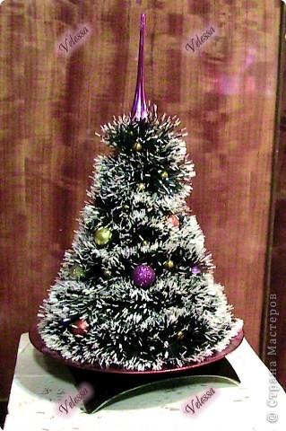 Вот такую ёлочку я сделала, как раз к празднику Святого Николая упела:) Елка получилась почти из ничего:) фото 1