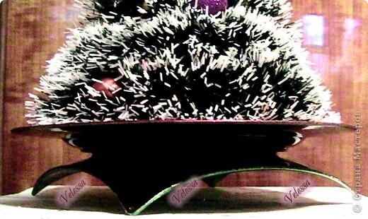 Вот такую ёлочку я сделала, как раз к празднику Святого Николая упела:) Елка получилась почти из ничего:) фото 3