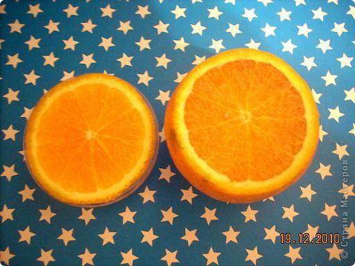 Нам понадобится апельсин с толстой кожурой и довольно большого размера. Можно взять  грейпфрут... фото 4