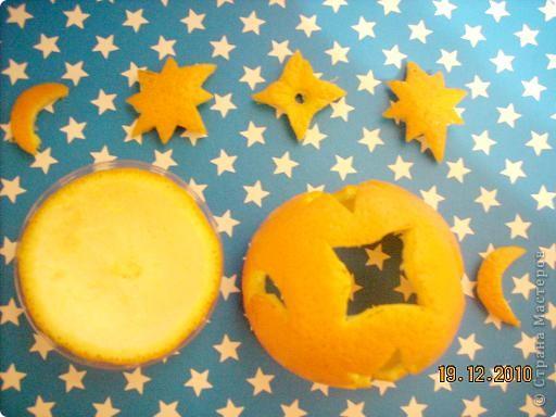 Нам понадобится апельсин с толстой кожурой и довольно большого размера. Можно взять  грейпфрут... фото 6