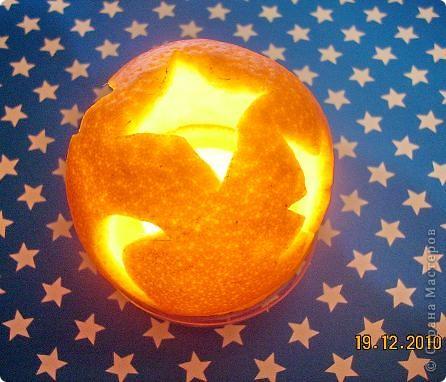 Нам понадобится апельсин с толстой кожурой и довольно большого размера. Можно взять  грейпфрут... фото 8