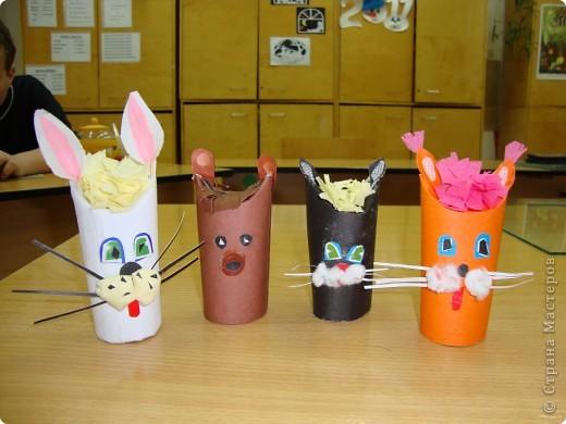 Игрушки из рулончиков. фото 1