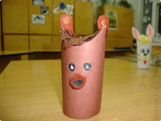 Игрушки из рулончиков. фото 4