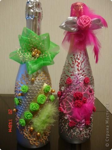 Мои романтические бутылки)))) фото 1