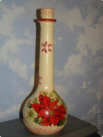 """ваза """"Ангелы"""" верхняя часть обклеена салфеткой, снизу целым фрагментом приклеена салфетка, акриловые краски, битум и золото по все поверхности фото 4"""