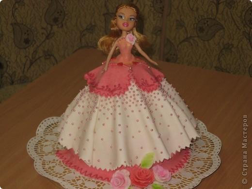 тортик-подарок для девочки