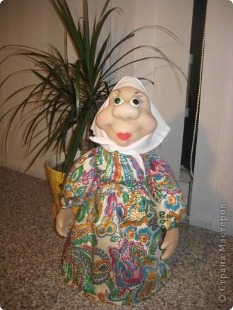 Эта бабуля была подарена на день рождения одной знакомой. фото 1