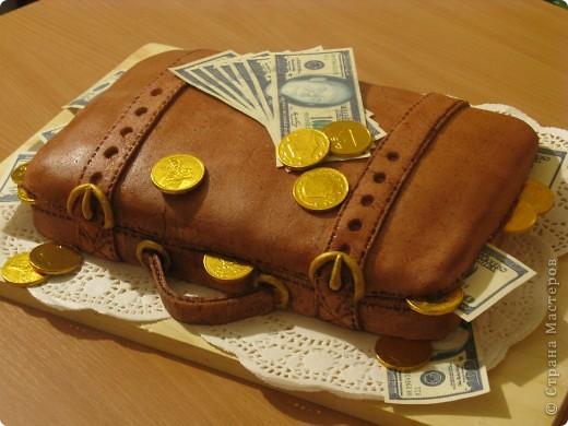 """тортик """"Кейс с деньгами"""""""