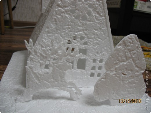 Вот такой домик получился в детский сад фото 2