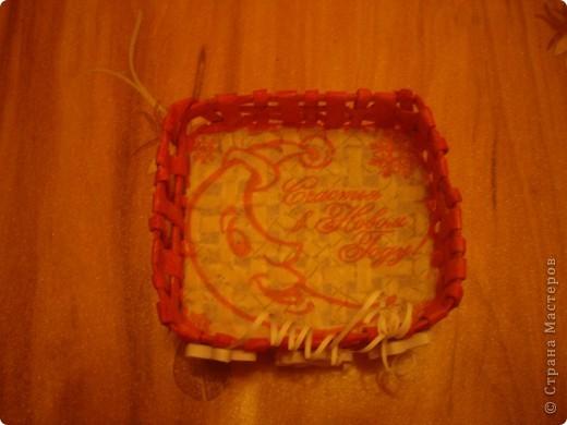Моя первая работа в плетении. Очень старалась, т.к. хотела сделать подарок для подруги. Оцените. фото 3