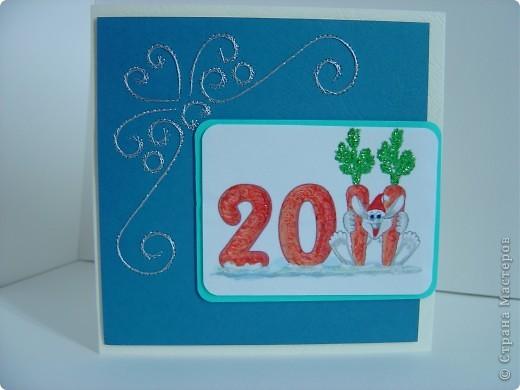 Мои новогодние открытки повторюшки фото 2