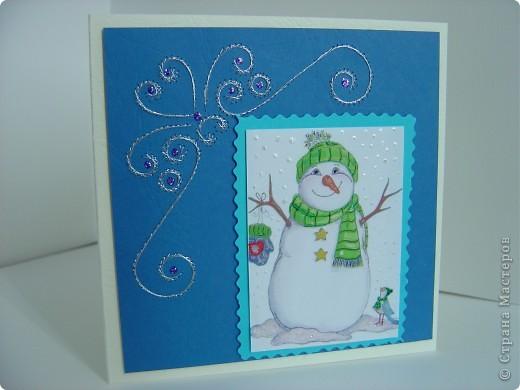 Мои новогодние открытки повторюшки фото 4