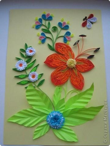 Букет из полевых цветов. Одна из моих первых работ. фото 3
