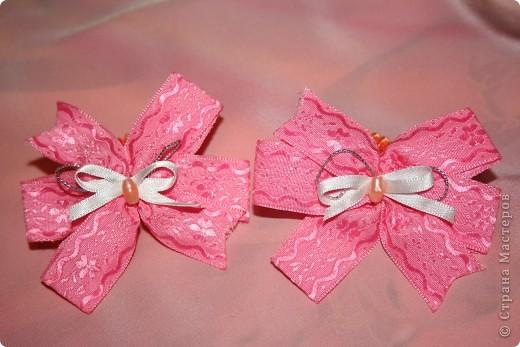 Бантики доченьке и на подарки фото 7