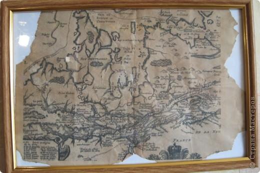 Старинная карта своими руками