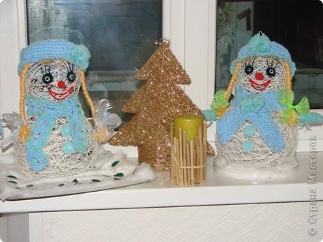 Новогодний снеговик  С Новым годом!!!
