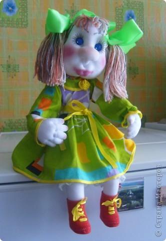 Майка- авторская каркасная кукла фото 3