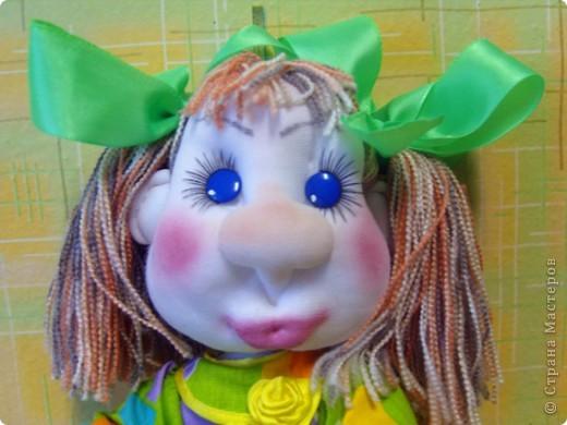 Майка- авторская каркасная кукла фото 1