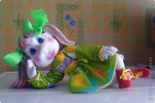 Майка- авторская каркасная кукла фото 4
