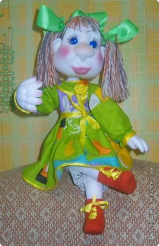 Майка- авторская каркасная кукла фото 2