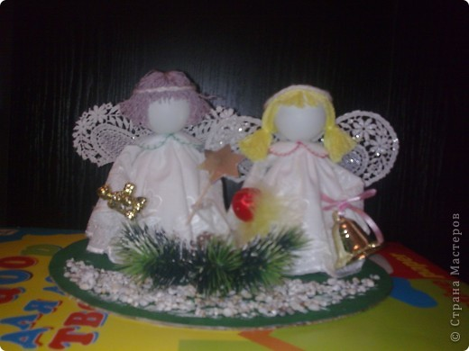 Рождественнские ангелы. фото 1