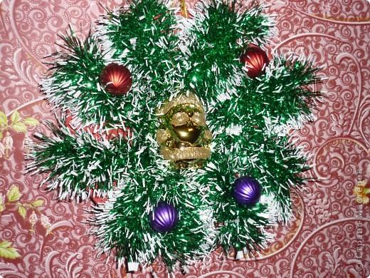 Создаем веночек к Рождеству. Это первенец. Пока висит дома! фото 2