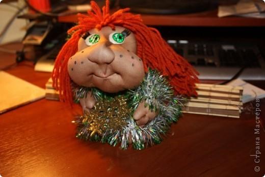 Маргарита. Новогодняя кукла на удачу фото 4
