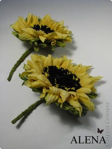 """Изготовление цветов из ткани очень увлекательный и затягивающий процесс. Подбор ткани для цветов, подбор аксессуаров, украшений из камней, бисера и перьев, крашение ткани, обработка лепестков и листьев, ну и конечно же сборка цветов - каждый этап работы по-своему важен и интересен. Создавая цветы, я порой забываю что пропустила обед, а иногда уйдя в работу не помню какое  сегодня число и сколько сейчас времени...   Но когда по прошествии нескольких часов работы,  держишь в руках готовую работу - цветок созданный своими руками, все остальное уходит на второй план. Брошь-цветок для костюма, цветок из ткани на платье, цветок в прическу, корсаж из цветов на руку, бутоньерки, шляпки, ободки и всевозможные интерьерные цветы - какой бы это ни был цветок главное что он сделан с душой.  Мой сайт вы легко найдете, набрав в любом поисковике """"цветы Алёны Абрамовой"""".  Некоторые работы:  фото 8"""