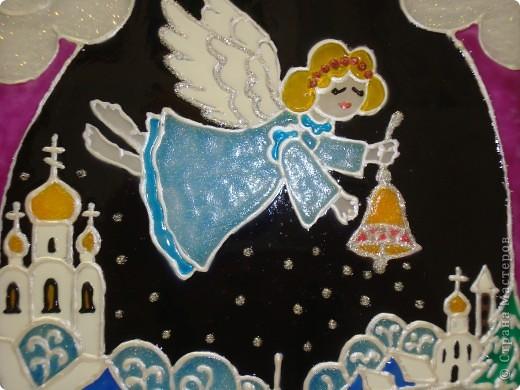 По мотивам батика na-ta-li  (http://stranamasterov.ru/node/116155?c=favorite)  родились у нас вот такие 2 рождественские работы фото 5