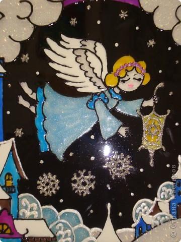 По мотивам батика na-ta-li  (http://stranamasterov.ru/node/116155?c=favorite)  родились у нас вот такие 2 рождественские работы фото 3