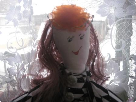 """Такая получилась у меня куколка . Выкройка взята из МК по тряпичным куклам с сайта """"Юлина кукла"""". фото 2"""