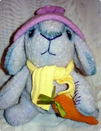 Вот такой кролик сшился к Новому году. фото 1