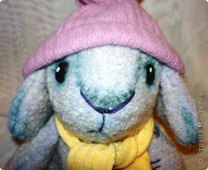 Вот такой кролик сшился к Новому году. фото 2