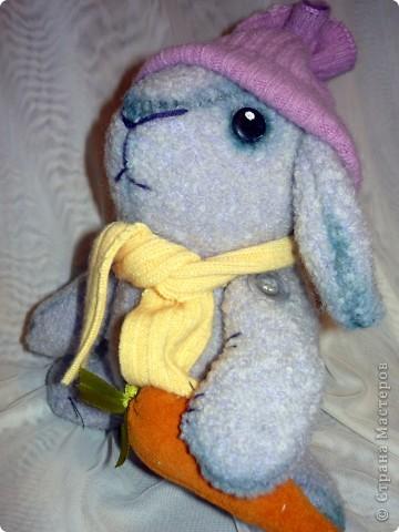 Вот такой кролик сшился к Новому году. фото 4