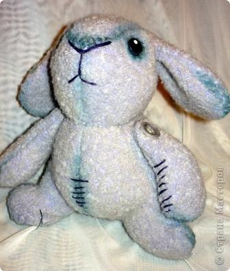 Вот такой кролик сшился к Новому году. фото 3