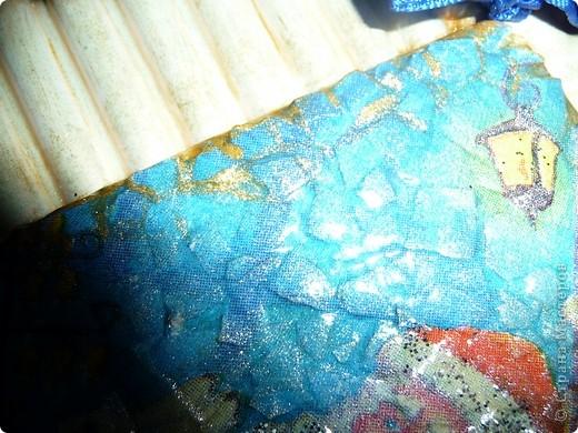 Это панно делала для Саши в детский сад.Она здесь только манку посыпала и первый слой краски накладывала... фото 3