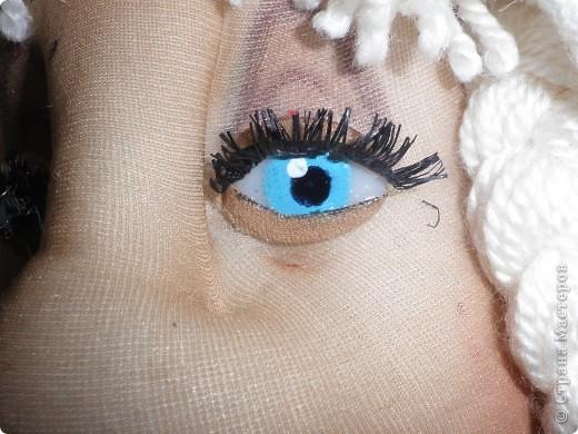 Це моя Дуняша. Ще подобаються мені ляльки Ольги Рубцової. Була в галереї ляльок у Києві і побачила її роботи, захотілося і собі спробувати зробити щось подібне. Така у мене вийшла дівчинка. фото 3