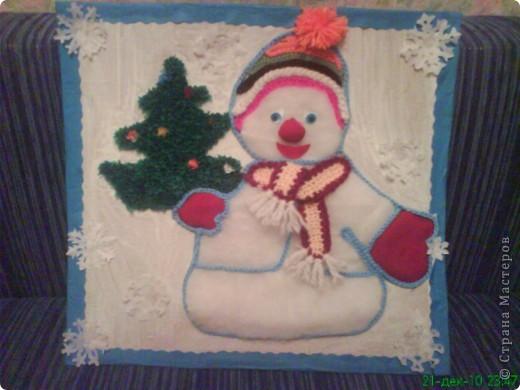 Снеговик.
