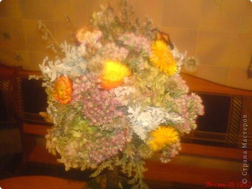 вот и мы соорудили дерево из осенних подарков природы фото 2