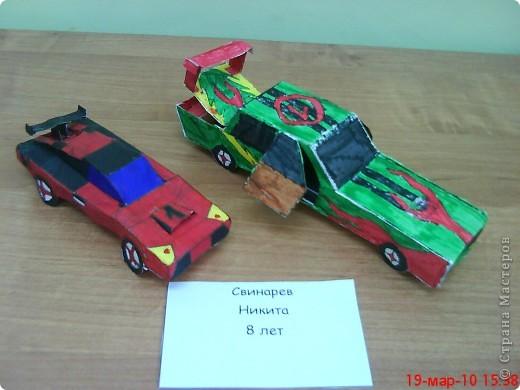 Эти модели автомобилей марки Lamborghini  Свинарев Никита сделал в прошлом учебном году.  http://stranamasterov.ru/node/71410 фото 1